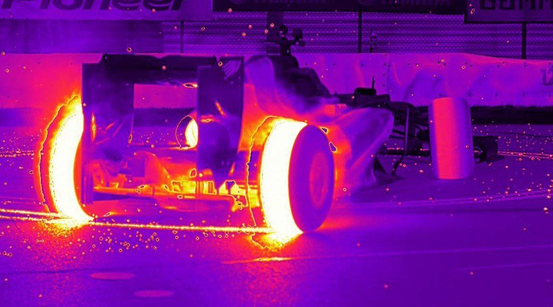 Aston Martin Red Bull Racing – zabezpieczony za pomocą kamer FLIR